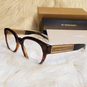 Burberry Rx Eyeglasses Tortoise Optical